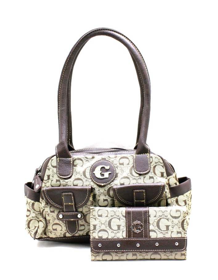 ... K1493KW330 G STYLE HANDBAG WITH WALLET SET - G Style Signat info for  267cf eced6 ... c36231d8f2