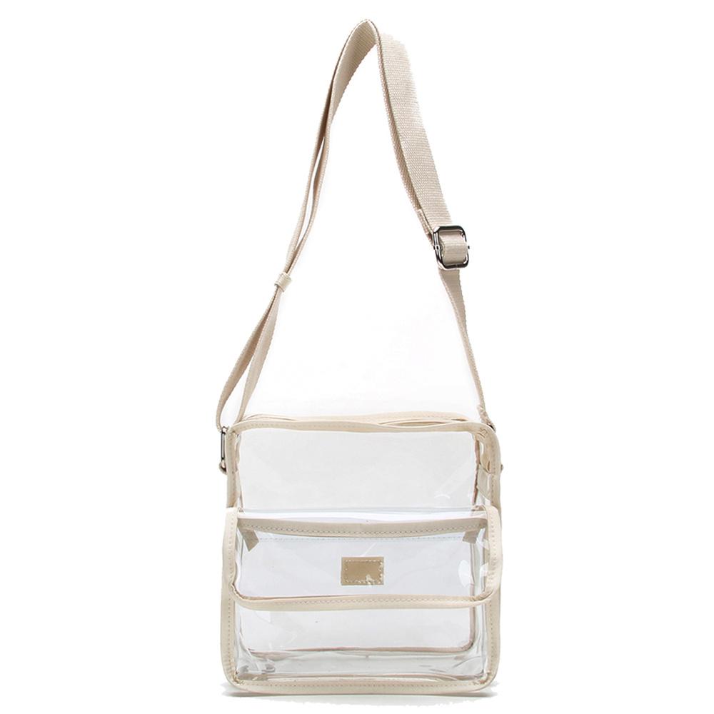 84b6b95ee5 TM6 1080 See Thru Crossbody Bag - Fashion Handbags