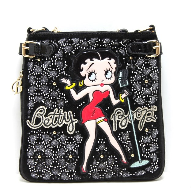 BP 60 Black Betty Boop Messenger Bag