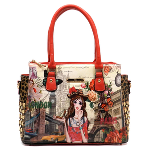 Alba Collection Girl  Printed Handbag