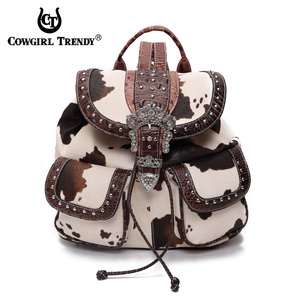 WESTERN STYLE BUCKLE BACKPACK
