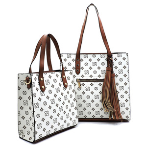 Monogrammed 2-in-1 Boxy Shopper