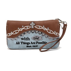 Bible Verse Wallet MARK10:27