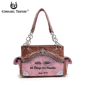 Mark 10:27 Bible Verse Handbag