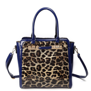 Fashion with Leopard print Handbag