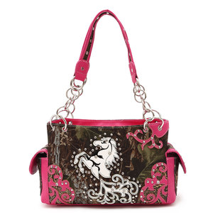 Leaves N Trees Horse Handbag