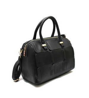 Patchwork 2 Way Boston Satchel