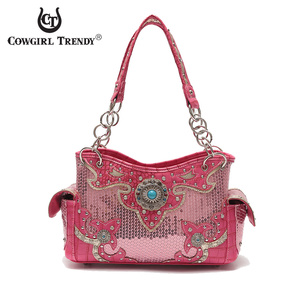Western studed shoulder Handbag