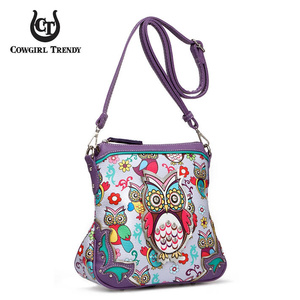 WESTERN OWL CROSS BODY BAG