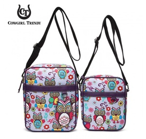 WESTERN OWL CROSS BODY BAG (2 IN 1)