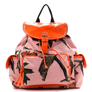 Pink Leaves n Trees Backpack