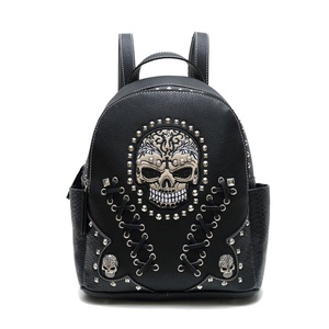 Biker Skull Backpack