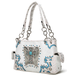 WETERN CROSS WING SHOULDER HANDBAG