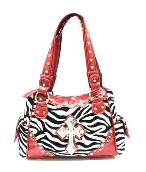 WESTERN ZEBRA  CROSS BAG