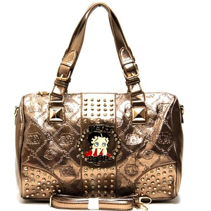 913dff7d501c BP171 Gold Wholesale Betty boop Handbag