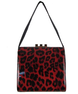Fashion Shoulder Handbag With Cheetah Print