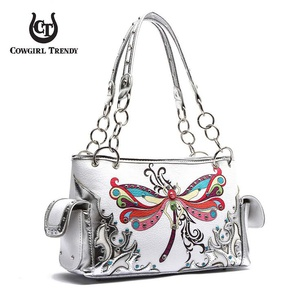 Dragonfly Western shoulder bag